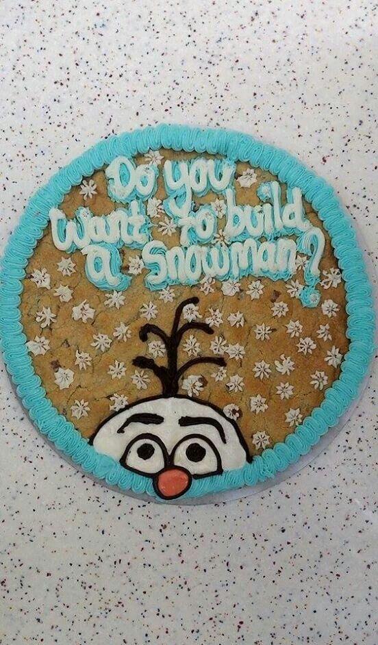 Disney's Frozen Olaf (Cookie Cakes)