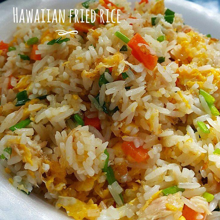 Hawaiian fried rice - Riso fritto hawaiano