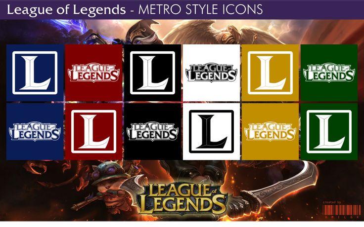 League of Legends - Metro Style Icons by xmilek.deviantart.com on @deviantART