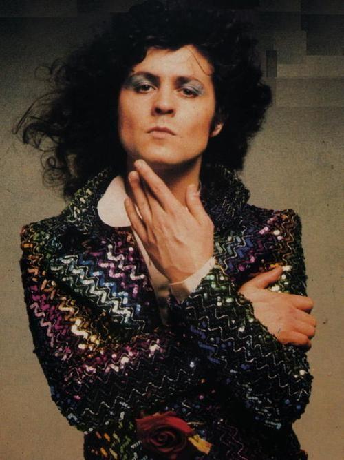 Marc Bolan wearing a Biba jacket