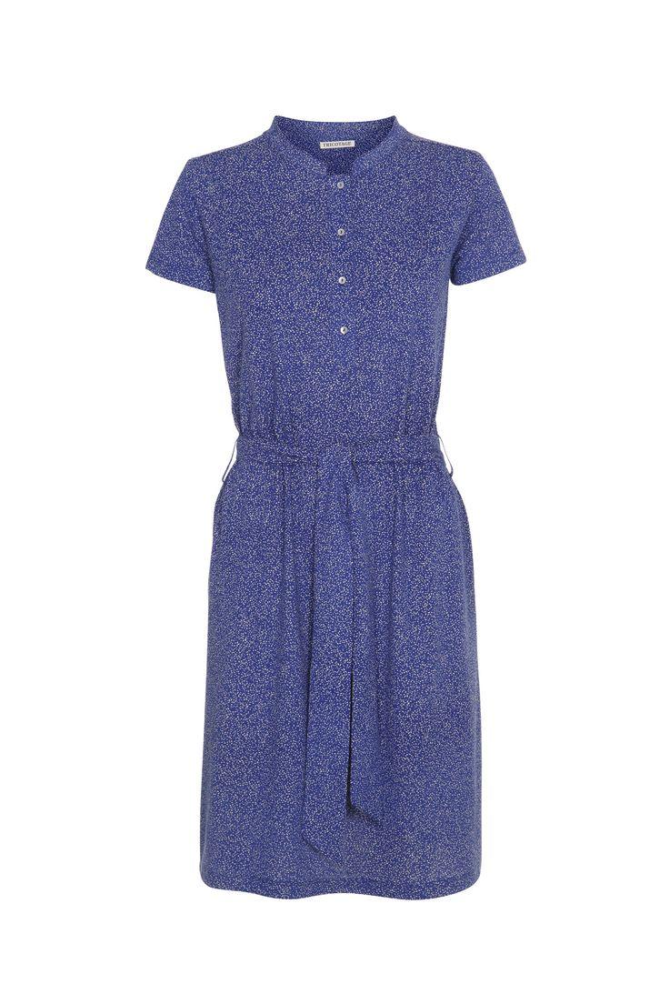 Tricotage organic cotton dress GOTS-certified.