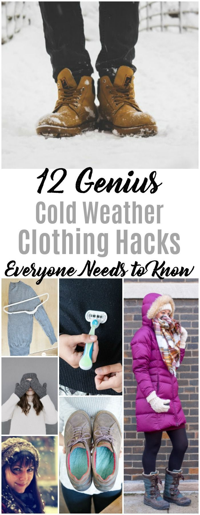 12 Life Changing Cold Weather Clothing Hacks Sure to Keep You Warmer All Season