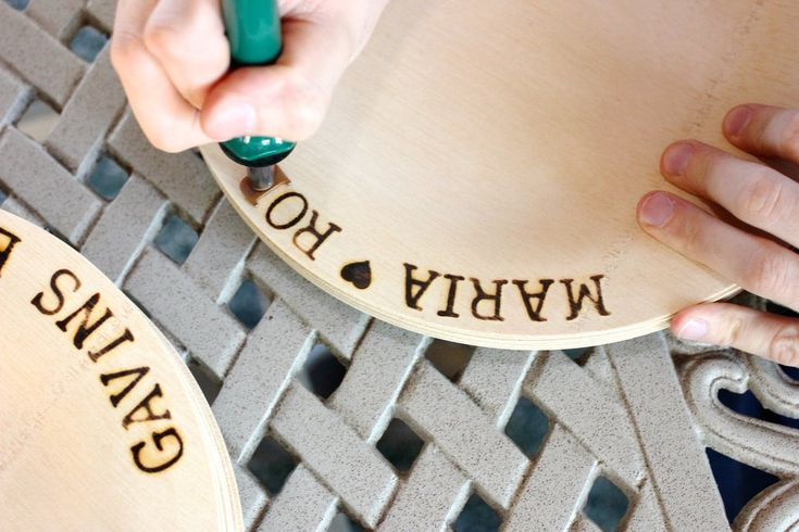 A Great Wedding Idea to Personalize Your Dinnerware for your wedding!