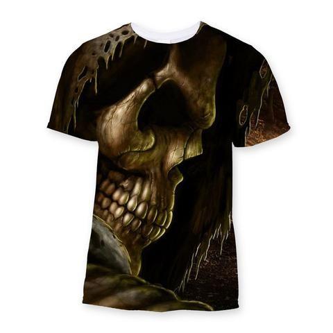 Skull Sublimation T-Shirt - We Love Skull