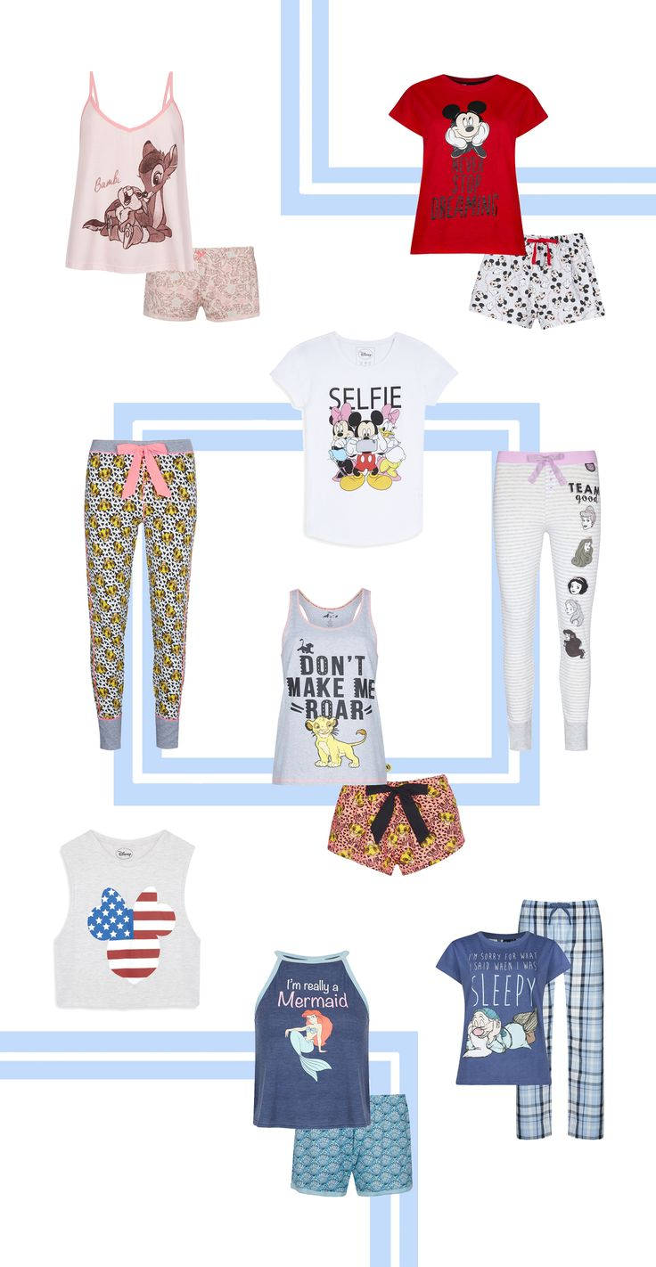 9 Disney pajamas you need from Primark | shopping guide | [ https://style.disney.com/shopping/2016/06/09/disney-pajamas-from-primark/ ]