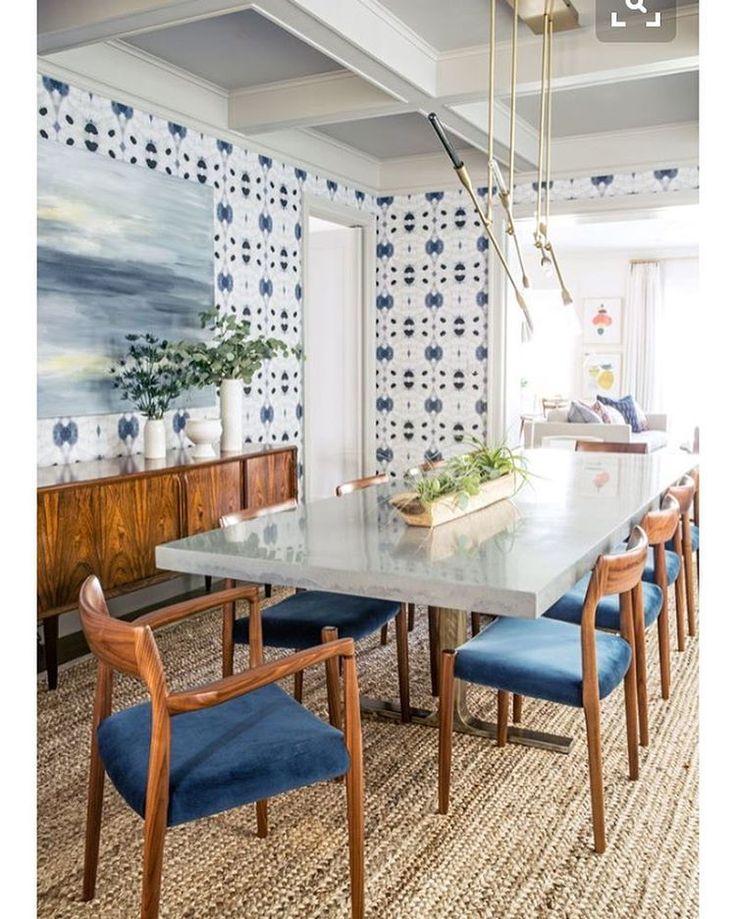 Feeling a little blue #style #decor #architecture #design #interior #interiordesign #endofvacation