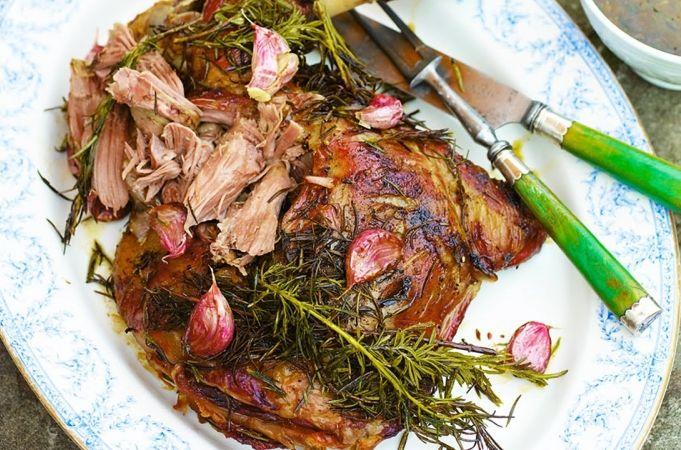 Italian Roast Leg of Lamb