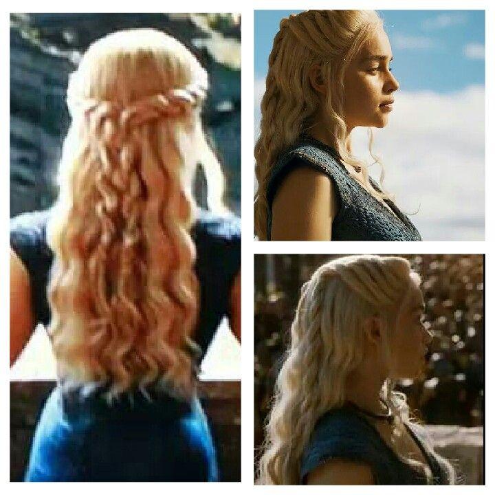 Khaleesi's hair is perfect!
