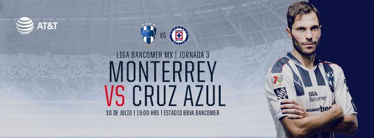 En casa somos más fuerte con el apoyo de la Mejor Afición. #VamosRayados con todo a la J3 de la LIGA Bancomer MX vs. CRUZ AZUL FUTBOL CLUB A.C..