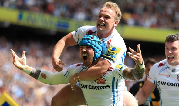 Wasps v Exeter Chiefs: Aviva Premiership final updates as Exeter lead at half-time