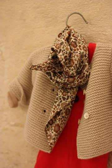 Gilet Papillon pour Bonton - Hiver 2012