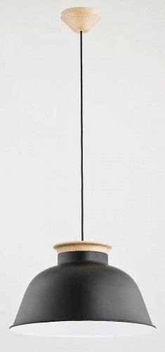 Tobilo lampa wisząca 1-punktowa czarna 60076/miedź 60075