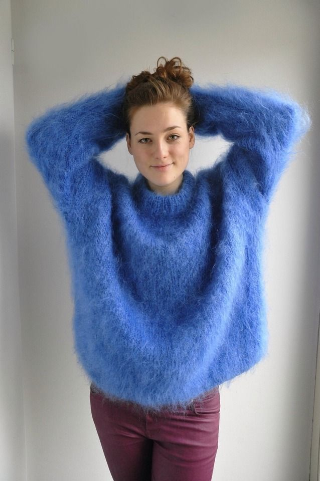 Arm Knitting Sweater : Best mohair fuzzy images on pinterest knits arm