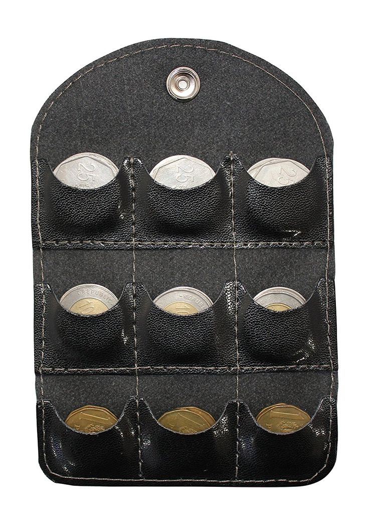 Portamoneda Coin Sorter Wallet *** Details can be found by clicking on the image.