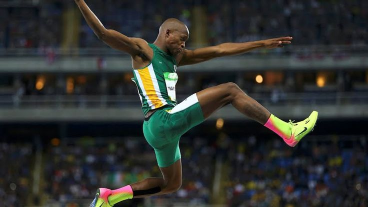 For a while, it looked like Luvo Manyonga was on course to win Team South Africa…