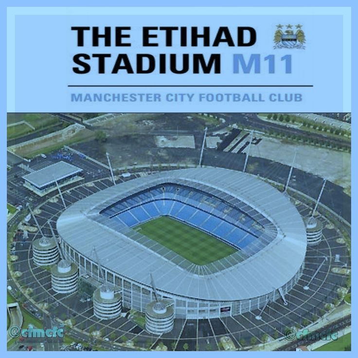 Etiahad Stadium, home of Manchester City FC: Manchester City 1 - Stoke City 0. 2011.