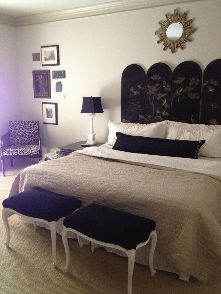 Master bedroom design by Texas Brocante www