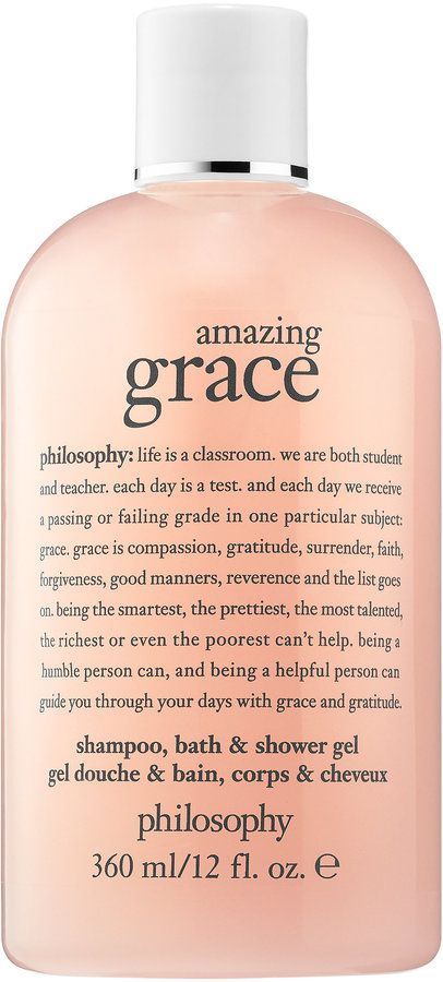 philosophy Amazing Grace Shampoo, Bath, & Shower Gel