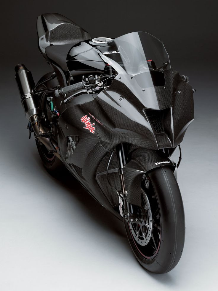 Kawasaky Ninja ZX10 blackmat this is a bike I would be glad to have this bike!!!