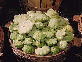 Pattypan squash - Wikipedia, the free encyclopedia Also known as the UFO squash 👽👽👾👾👽👽👽