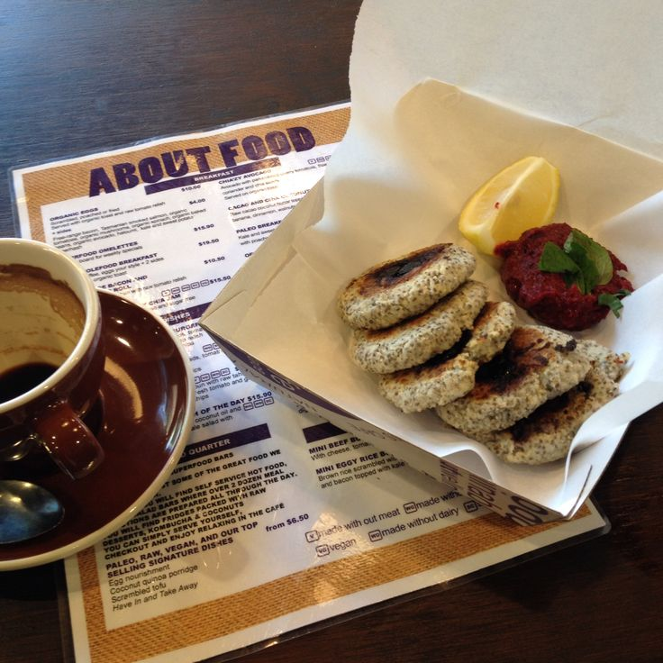 Healthy & delicious chia seed pancakes at AboutLife cafe in Double Bay | If you're vegan or just into healthy living this is for you