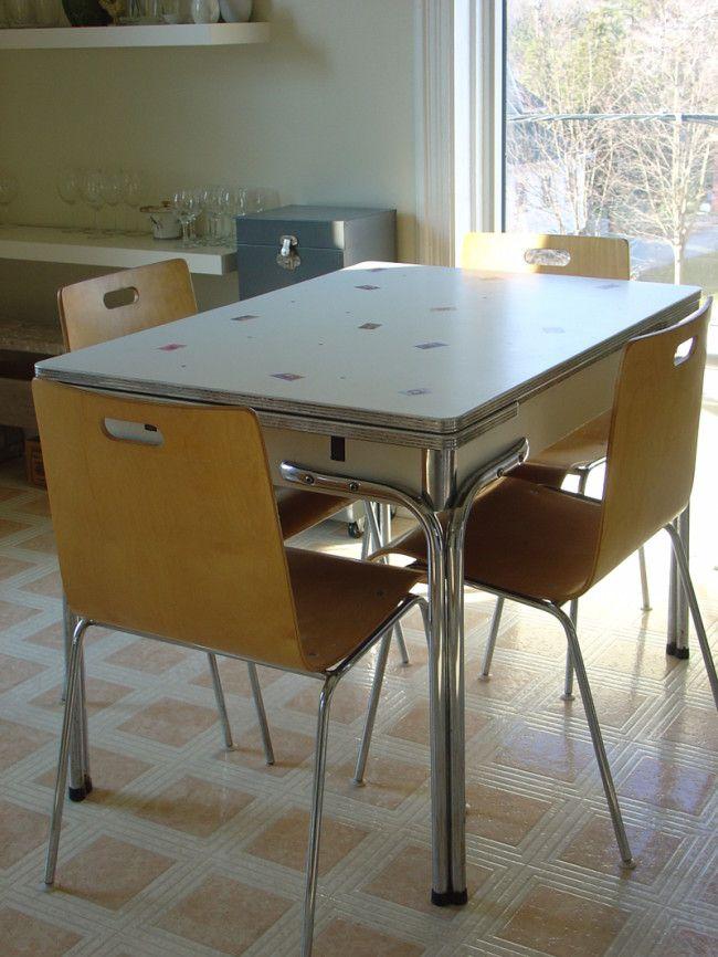 Vintage Kitchen Table : Kitchen Design Ideas Part 86