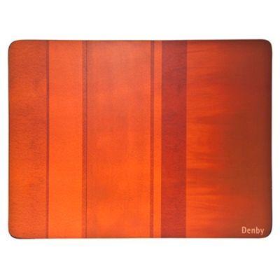 Denby set of four orange placemats at debenhams.com