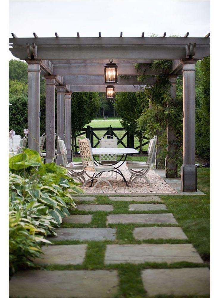 best 25 outdoor pergola ideas only on pinterest. Black Bedroom Furniture Sets. Home Design Ideas
