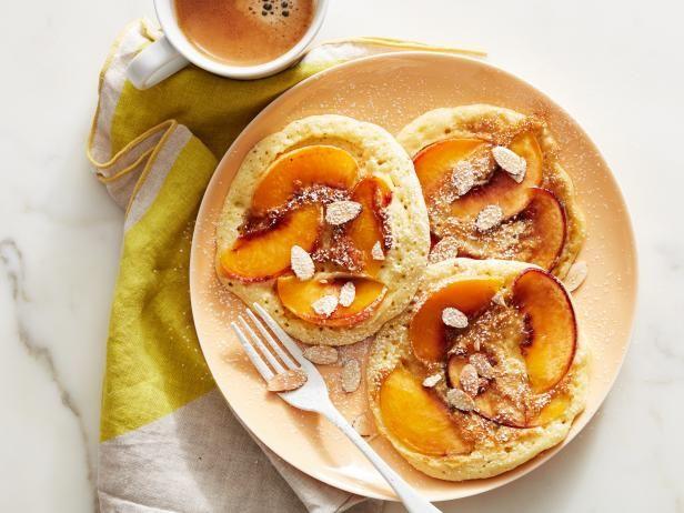 Peach Cobbler Pancakes Recipe | Food Network Kitchen | Food Network