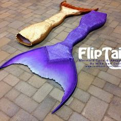 Flip tail silicone swimmable mermaid tail <3
