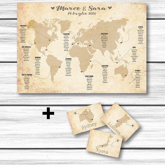 Tableau De Mariage Segnatavoli Matrimonio Mappa Download Digitale Da Stampare Matrimonio Tema Viaggio Vintage Mappa Wedding Reception Wedding Mariage