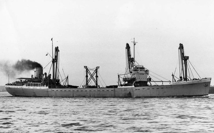 Ben Line's SS Benalbanach. Built by Vickers Armstrong at High Walker for  MOWT(P.Henderson & Co managers) as SS Empir Athelstan & completed 6/46. 7,803GRT, length 451ft, beam 66.6ft & depth 31ft. Single screw powered by 2 x steam turbines gave 15Kts. '47 to Ben Line & renamed SS Benalbanach. '65 to MOT(British India Steam Nav. Co managing) & renamed SS Camelot. '69 to Board of Trade & sold to 69Mercur Enterprise Inc SA, Panama; renamed SS Dragon  Castle. '74 to Cuatebol Shipping Co SA…