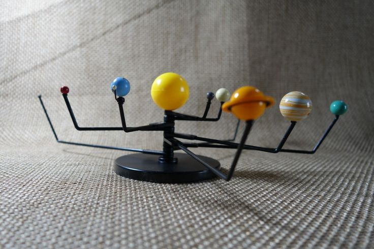 solar system model from kit Ogels DIY Projects Solar
