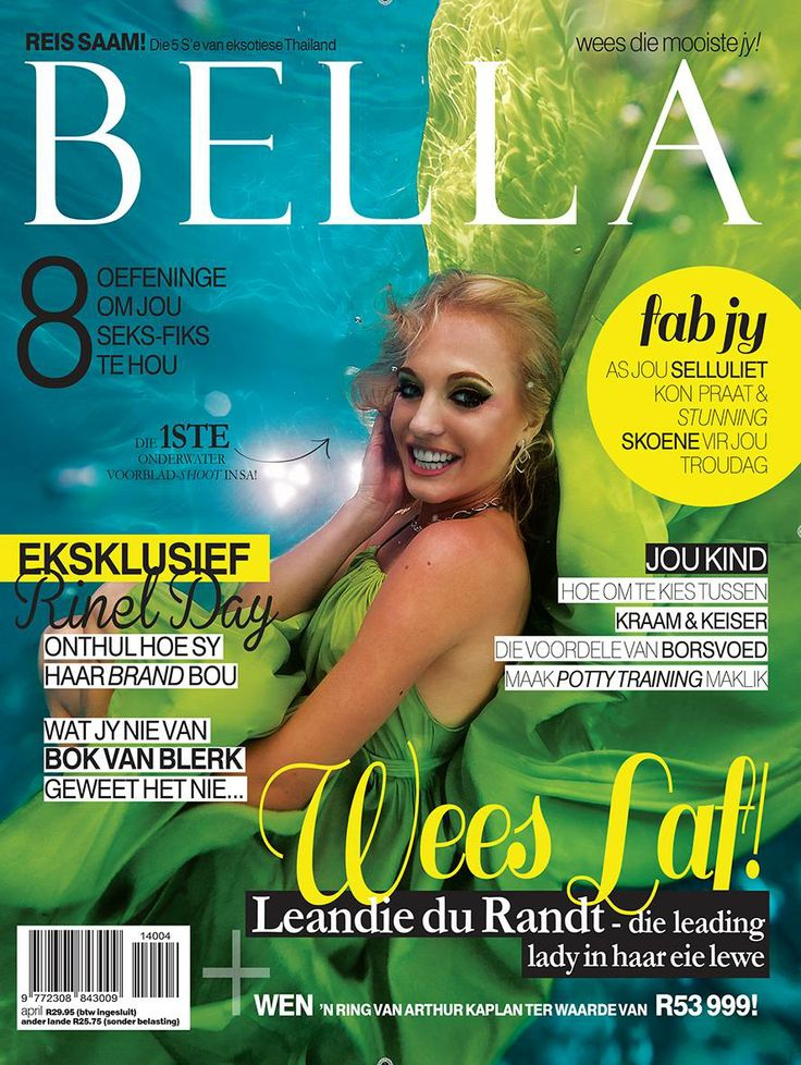 Our beautiful Leandie Du Randt on the latest Bella SA magazine cover