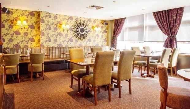 Restaurant area at Premier Inn London Tower Bridge hotel