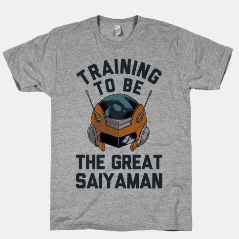 Training To Be The Great Saiyaman.
