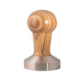 Tamper - Stainless Steel 53mm Wood - Zebrano