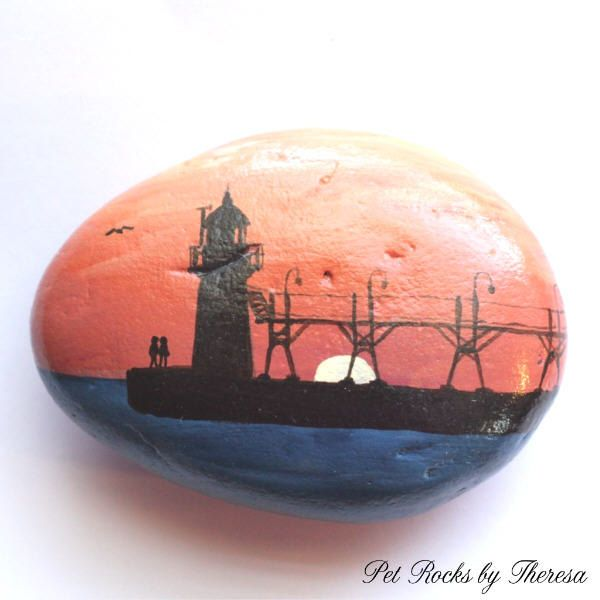 Lighthouse Natural Stone : Images about my etsy stones on pinterest artworks