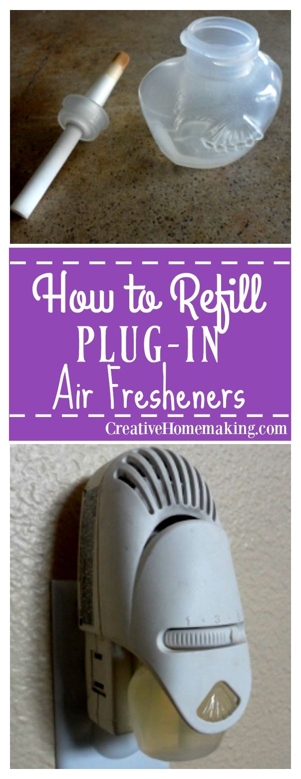 You can easily refill your plug-in air fresheners with your favorite essential oils by following these step-by-step instructions.