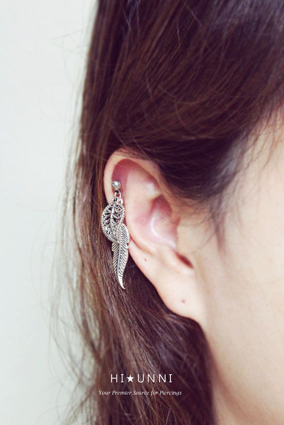 176 best Cartilage earrings piercings images on Pinterest
