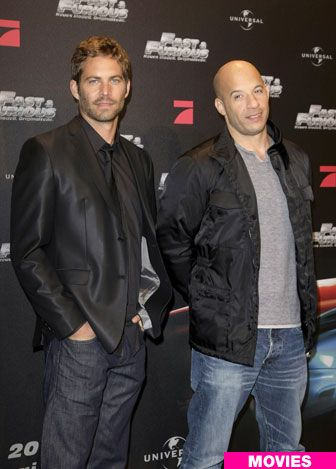 Paul Walker  Vin Diesel  Cannot wait for FF7, to see their final work together.  Great team for very entertaining movies.