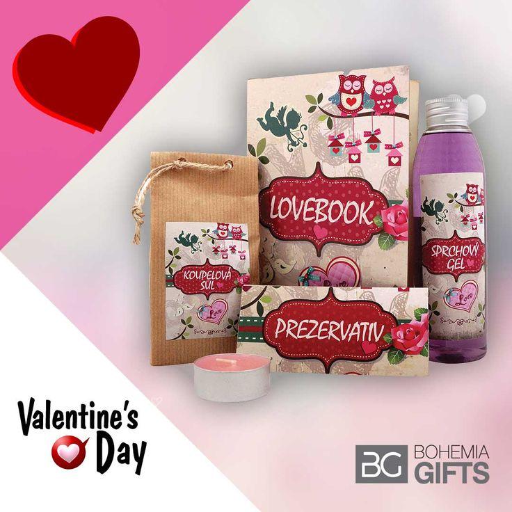 Dárky pro zamilované k svátku sv. Valentýna. Skvělý dárek pro vašeho miláčka či milou ...