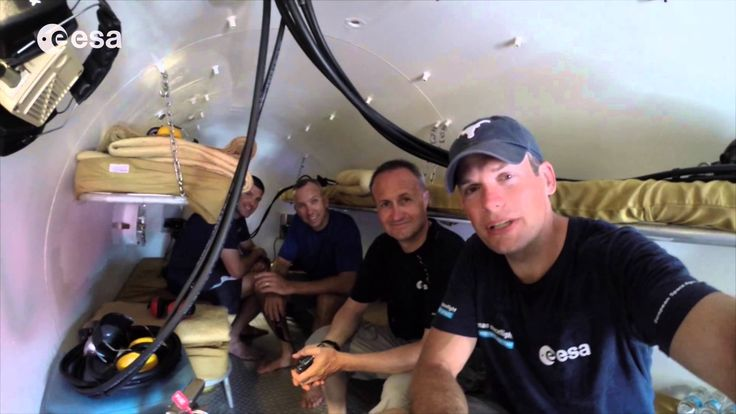 In this update from ESA astronaut Andreas Mogensen, the NEEMO 19 crew checkout the decompression chamber - for use in case they need to evacuate the Aquarius...