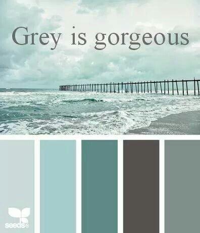 Beach inspired palette