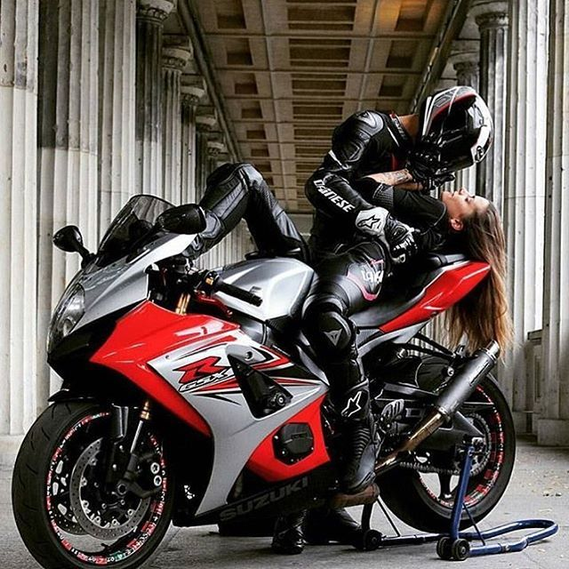 COUPLES WHO RIDE TOGETHER STAY TOGETHER  b.e.r.l.i.n.gixxer  Pepe Lila   TAG A F…