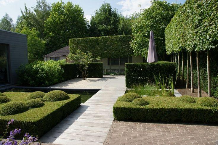25 beste idee n over buitenleven op pinterest achtertuinen achtertuin keuken en buiten grill - Moderne buitentuin ...
