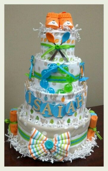 best diaper cakes and more images on   baby shower, Baby shower invitation