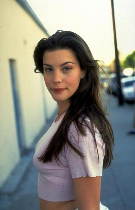 young liv tyler. her beauty is so underrated.