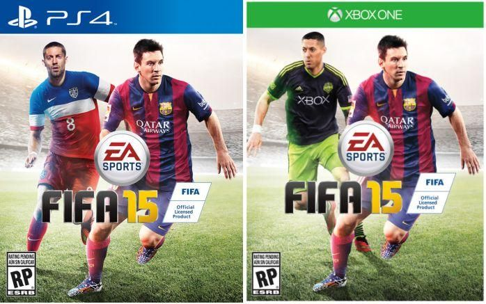 FIFA 15 Cover Adds US Player Clint Dempsey in North America - GameSpot