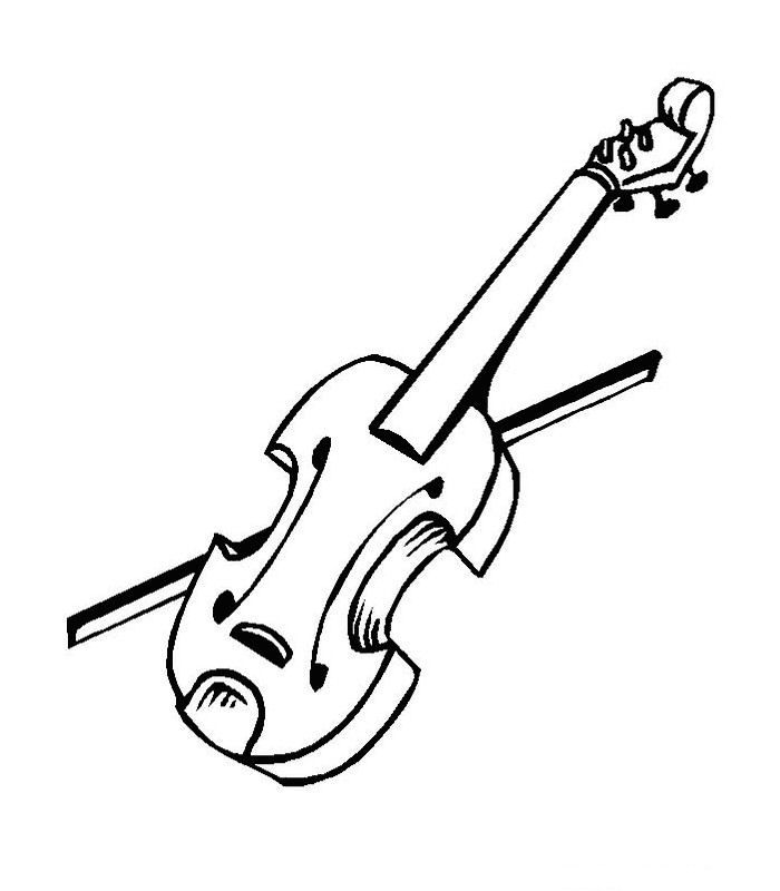 62 coloring pages of Musical Instruments on Kids-n-Fun.co ...